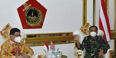 Dankormar Terima Kunjungan Kerja Sekda Provinsi DKI Jakarta