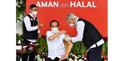 Besok Pagi Jokowi Kembali Disuntik Vaksin