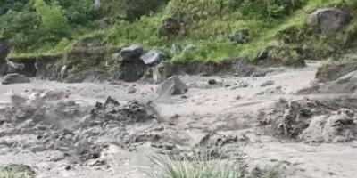 Pertama Kali, Banjir Lahar Dingin Gunung Merapi Menerjang Selama 1,5 Jam