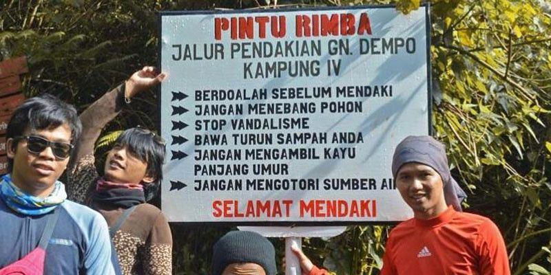 Banyak Pelanggaran, 10 Pendaki Gunung Dempo Kena Blacklist