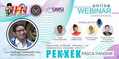 Peringati HPN, SMSI Gelar Seminar Pemulihan dan Kebangkitan Ekonomi Pasca Pandemi