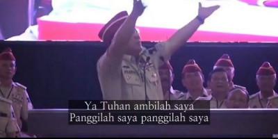 Prabowo Subianto: Ya Tuhan, Ambillah Saya, Panggillah Saya