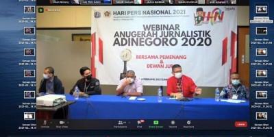 Kisah Pemenang Anugerah Jurnalistik Adinegoro 2020: Toleransi Dai, Pemakaman Korban Covid-19, Bekantan dan Bencana