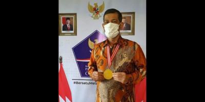 Terima Anugerah Medali Emas Dewan Pers, Ini Kata Doni Monardo