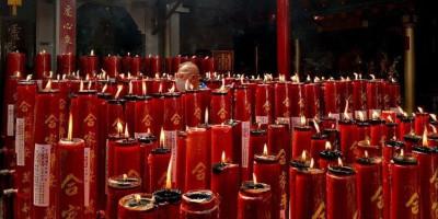 Api Lilin Sembahyang Jadi Prioritas Penjagaan Wihara