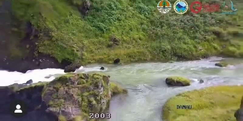 Terpantau CCTV, Debit Air Danau Segara Gunung Rinjani Meningkat