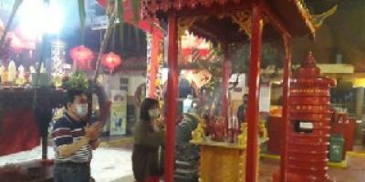 Gelar Imlek, Vihara Tangerang Terapkan Prokes