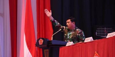 Panglima TNI Buka Rapat Pimpinan TNI, Singgung Paham Radikalisme dan Terorisme
