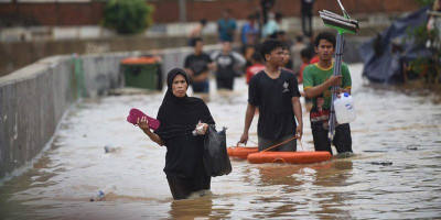 Warga Jakarta Diminta Siap Hadapi Banjir Besar