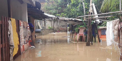13 RW di Jakarta Terendam Banjir