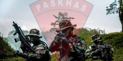Baku Tembak, Paskhas Dibantu Pasukan Gabungan Tewaskan Satu Anggota KKB