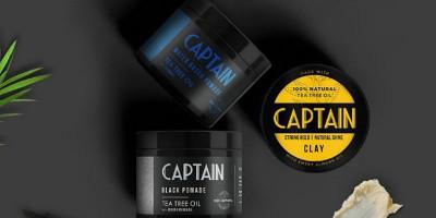 Pomade dengan 100 Persen Bahan Alami dari Captain Men's Care