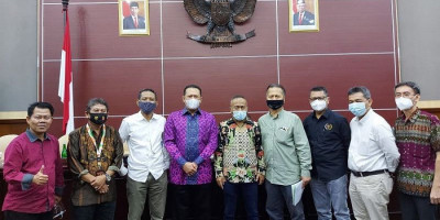 Ketua MPR RI Bambang Soesatyo Buka UKW Angkatan ke-50 PWI Jaya
