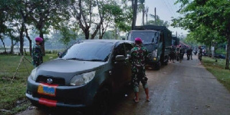 Banjir Hampir Tenggelamkan 9 Desa di Pebayuran, Korps Marinir TNI AL tetap Siaga