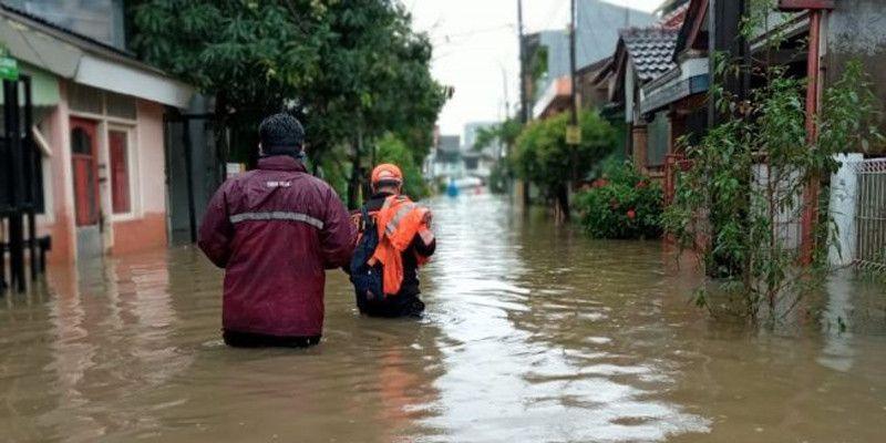 7 Desa di Kabupaten Bekasi Tenggelam, 17 Ribu Warga Mengungsi