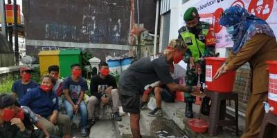 PMI Sukabumi Gandeng Punker dan Anjal Kampanyekan Pencegahan Covid-19