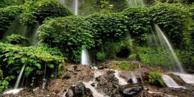 Air Terjun Kelambu, Tempat Mandi Dewi Anjani yang Bikin Awet Muda