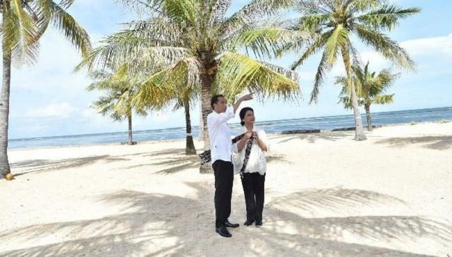 Nemberala, Pantai Indah yang Jadi Lokasi Romantis Bagi Jokowi dan Iriana