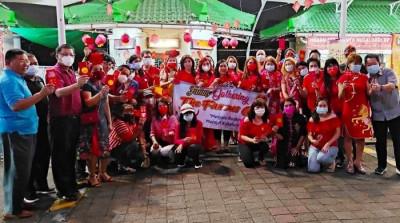 Rayakan Cap Go Meh, Komunitas The Famous Club Berharap Indonesia Segera Bebas Pandemi