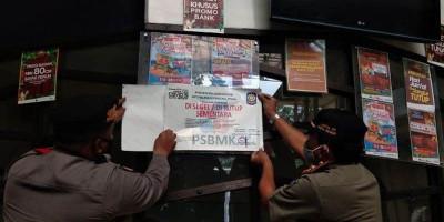 Melanggar PPKM, 18 Tempat Usaha di Bekasi Disegel