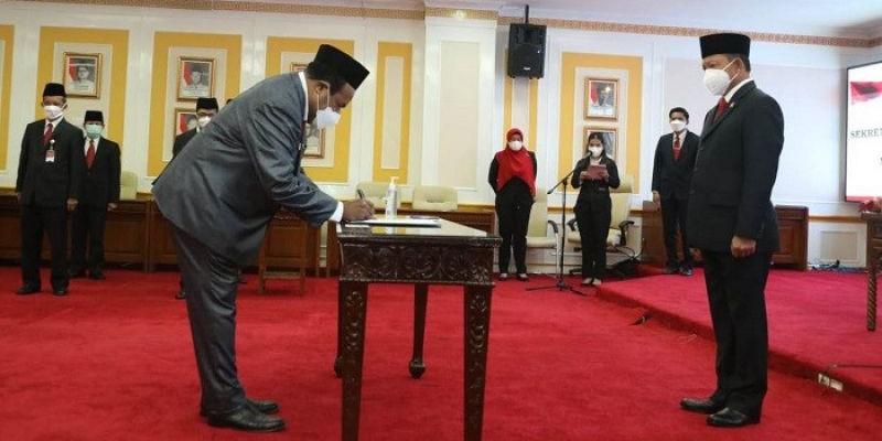Dua Sekda Papua Dilantik Bersamaan, Ketua Pemuda Adat Sebut Wagub Membangkang Perintah Presiden