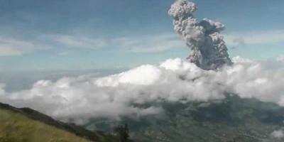 Puluhan Kali Erupsi dalam Sehari, Status Gunung Merapi Masih Siaga