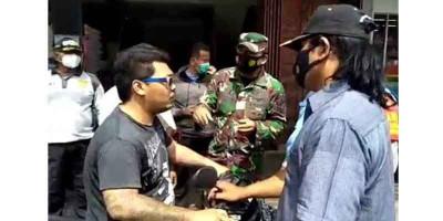 Melawan Saat Razia Masker, Satpol PP Polisikan Pria yang Ngaku Anak TNI