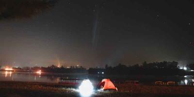 Camping Seru di Situ Cileunca Bandung