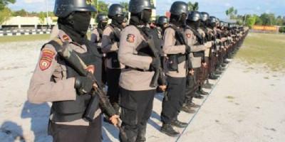 6 Polwan Terbaik dari Korps Brimob Dikirim ke Papua untuk Hadapi KBB