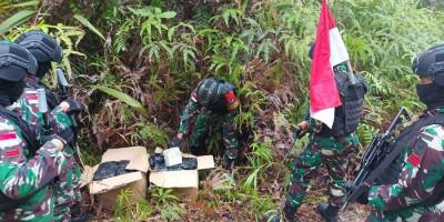 42,9 Kilogram Sabu-sabu Diamankan Satgas TNI di Perbatasan Kalimantan Barat