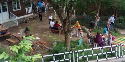 Kulineran Pinggir Sungai di Joglo Pari Sewu Jogja