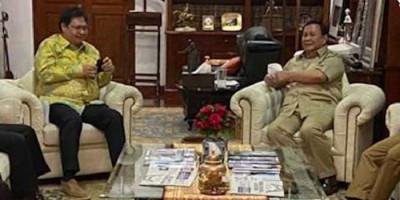 Pertemuan Prabowo dan Airlangga Hartarto Tak Sekadar Silaturahmi Tapi Mengejar Persamaan di Pilpres 2024
