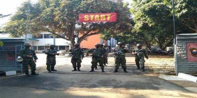 Prajurit Lanmar Jakarta Laksanakan Latihan Hanmars