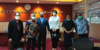 Terima Dubes Azerbaijan, PWI Pusat Sepakat Lombakan Kisah Laila Majnun