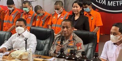 Pengiriman Sabu Senilai Rp 2 Miliar Digagalkan di Tanjung Priok