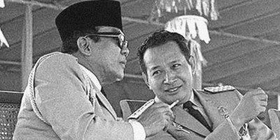 Sukarno, Suharto dan 'sisi kanan' politik Indonesia