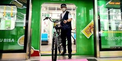 Anies: Kini Sepeda Non Lipat Bisa Naik Ratangga