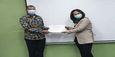 Prajurit Brigif 1 Marinir Terima Penghargaan Dari Pt. Shell Indonesia