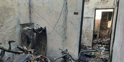 Suami Istri Korban Kebakaran Hebat Tewas dalam Kondisi Berpelukan