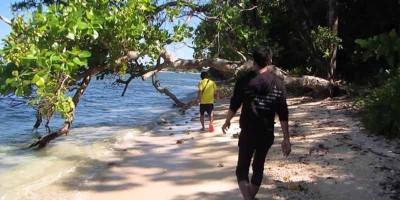 Pantai Tenda Biru, Ujungnya Ujung Genteng