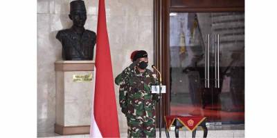 Panglima TNI Pimpin Penyerahan Jabatan Komandan Kodiklat dan Sertijab Asisten Logistik