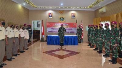 Komandan Pangkalan Marinir Jakarta Canangkan Zona Integritas di Lanmar Jakarta
