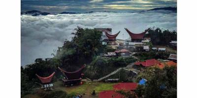 Tongkonan Lempe, Tempat Foto-foto di Atas Awan