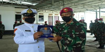 Acara Purna Tugas Prajurit Batalyon Komlek 1 Marinir