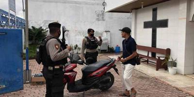 Azis Syamsuddin Imbau Jemaat Tidak Takut Beribadah di Gereja