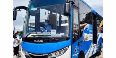 Transportasi Baru di Kota Depok, Namanya Bus D'Gol
