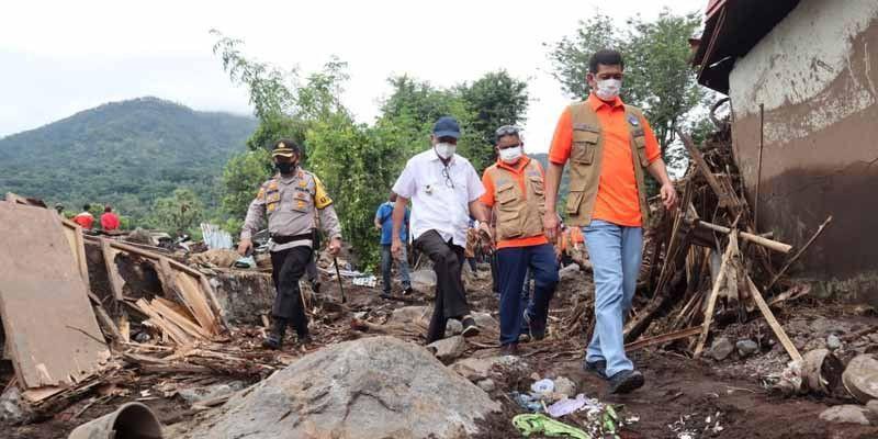 Doni Monardo Pastikan Korban Bencana Mendapat Perawatan Maksimal