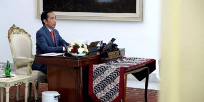 Jokowi kepada Kepala BNPB dan Menteri PUPR: Percepat Proses Evakuasi Penyelamatan Korban