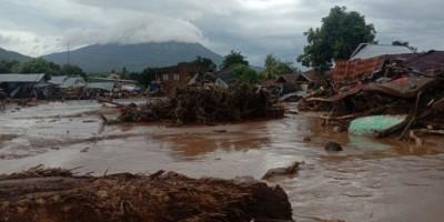 Bocah Perempuan Ini Terseret Banjir 5 Jam, Ditemukan Duduk di Pohon