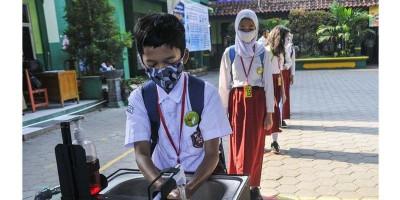 Uji Coba Sekolah Tatap Muka, Kesehatan Murid Dilaporkan Setiap Dua Pekan